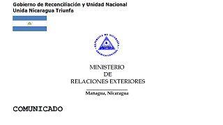 El Gobierno de Nicaragua asegura mantener su compromiso con las negociaciones con la oposición