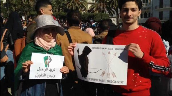 Los estudiantes argelinos no creen a Buteflika y vuelven a tomar las calles