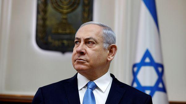 نتنياهو خلال اجتماع وزاري في القدس