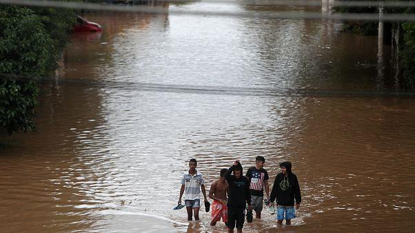 Sao Paulo : des inondations meurtrières