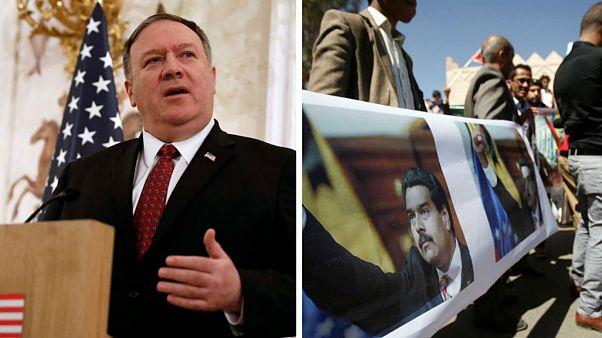 آمریکا تمام دیپلماتهای خود را از ونزوئلا خارج می کند