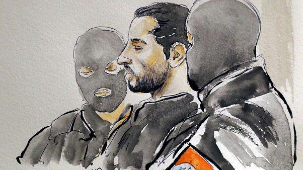 الحكم على الفرنسي مهدي نموش بالسجن مدى الحياة لهجومه على المتحف اليهودي ببروكسل