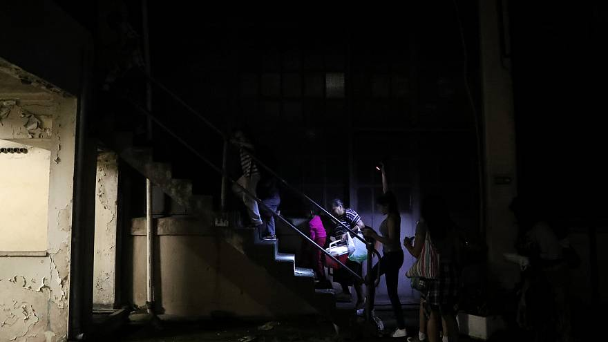 Hungria: Migrantes em centros de sem-abrigo