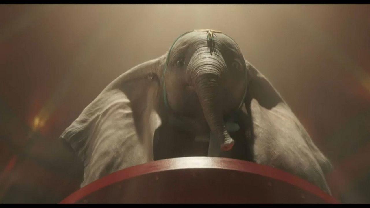 El nuevo 'Dumbo' de Tim Burton