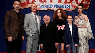Dumbo Tim Burton értelmezésében - premier