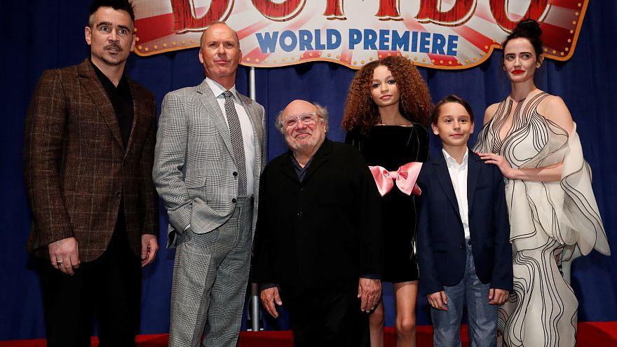 """Anteprima mondiale per il """"Dumbo"""" firmato Tim Burton"""