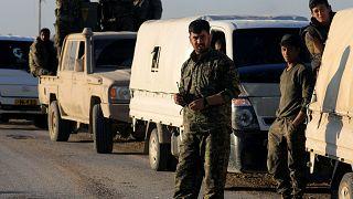 من القوات التي تحارب داعش في باغوز