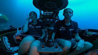 شاهد: بعثة نكتون تقوم بمهمة سبر أغوار المحيط الهندي في أول صور مباشرة متلفزة