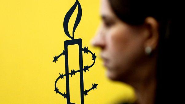 شعار منظمة العفو الدولية