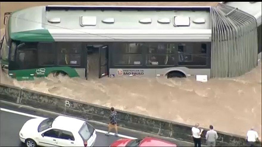 Halálos áldozatai vannak a Sao Pauló-i áradásoknak