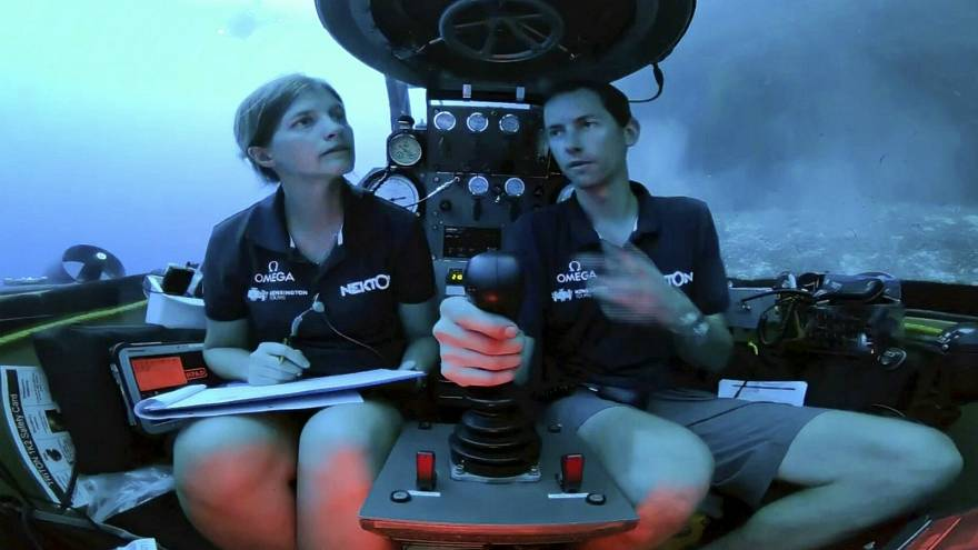 Scientists broadcast live video from the depths of the Indian Ocean