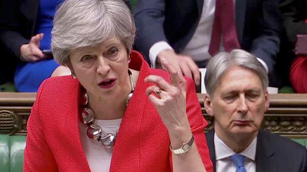 تيريزا ماي في مجلس العموم البريطاني اليوم