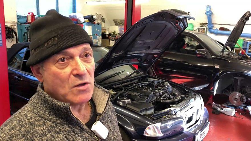 Eshan Koregar, known as Jimmy, runs a garage in west London