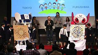 Japão apresenta pictogramas olímpicos