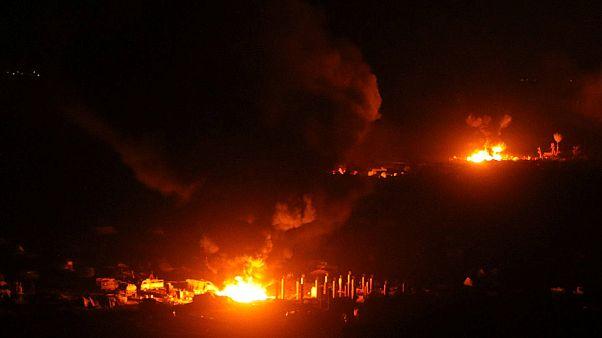 Suriye: IŞİD'in elindeki Bağuz'a yönelik operasyon sürüyor