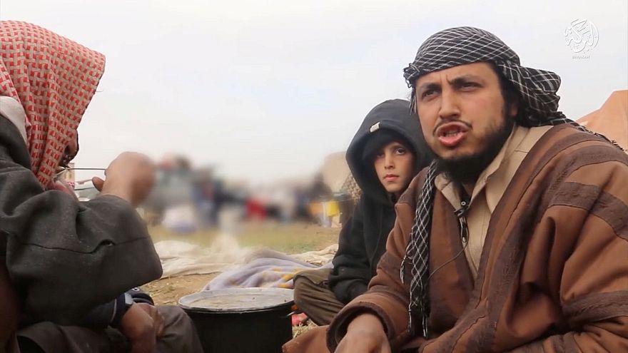 Les djihadistes à Baghouz, entre propagande et reddition