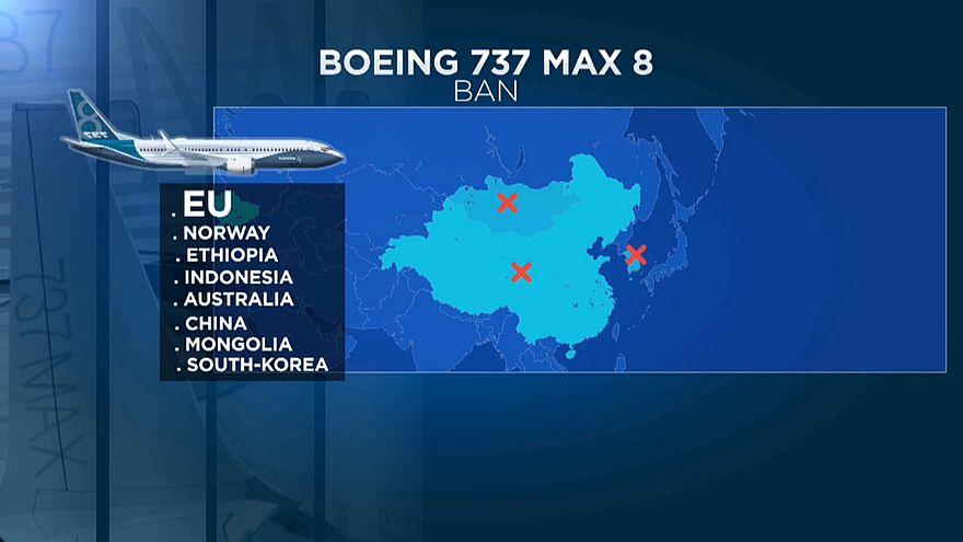 Europa suspende todos os voos do Boeing 737 MAX
