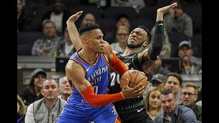 NBA: lite tra Russel Westbrook e un tifoso degli Utah Jazz