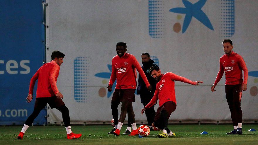Barça y Lyon se juegan el pase a cuartos de la Champions