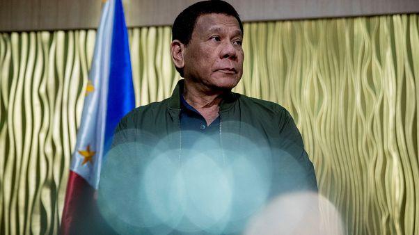 رئيس الفلبين رودريغو دوترتي
