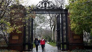 Yale Üniversitesi kampus girişi