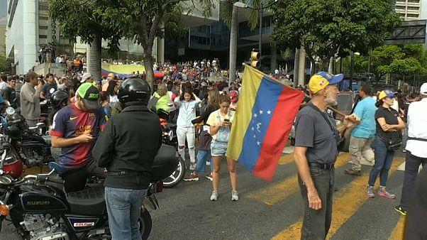 Nuevas movilizaciones en Caracas tras el apagón