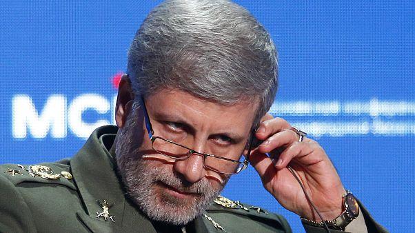 وزير الدفاع الإيراني أمير حاتمي