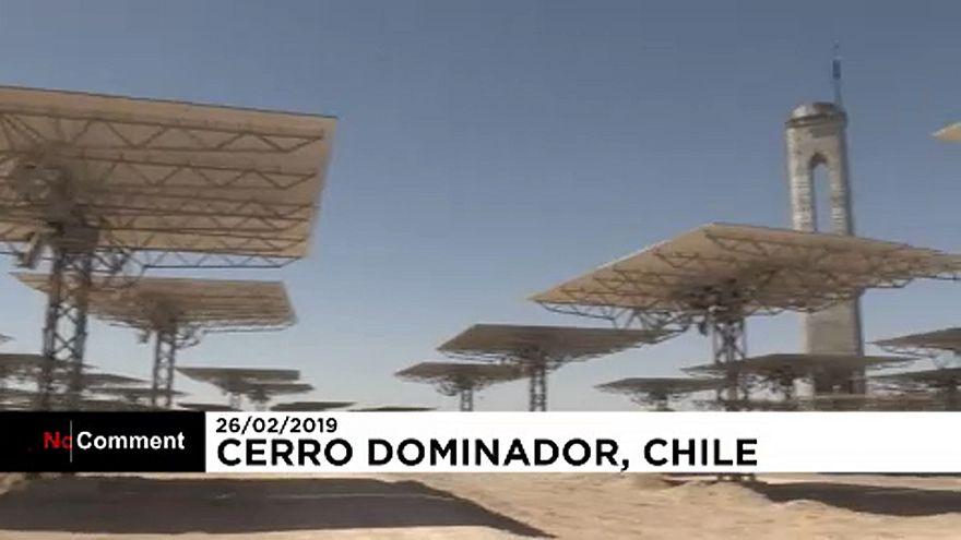 شاهد: سيرو دومينادورأول محطة للطاقة الشمسية الحرارية في أمريكا اللاتينية