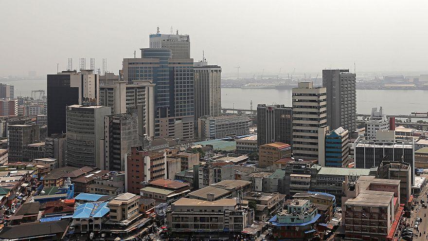 صورة لمدينة لاغوس أكبر مدن نيجيريا