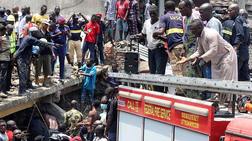 Νιγηρία: Πολύνεκρη κατάρρευση σχολείου στο Λάγος