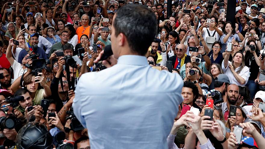 """Guaidó asegura que """"muy pronto"""" estará en el palacio presidencial"""
