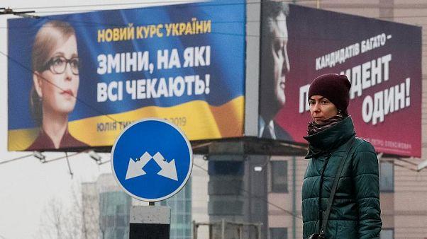 ممثل كوميدي وملك الشيكولاته وأميرة الغاز تعرف إلى أبرز مرشحي الانتخابات الرئاسية في أوكرانيا