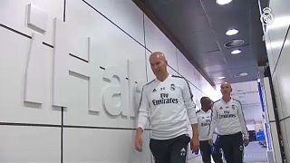 Zidane megkezdte a munkát Madridban