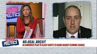 UK no-deal tariffs could have a 'detrimental effect' on Irish farming | Raw Politics