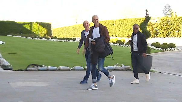 Zidane zurück bei Real Madrid