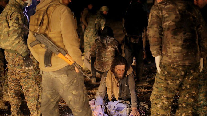 هجومان مضادان لمقاتلي الدولة الإسلامية في الباغوز السورية