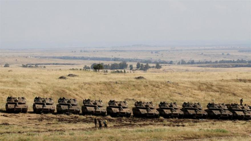 Golan tepeleri için kullanılan 'İsrail işgali altındaki bölgeler' ifadesi kaldırıldı