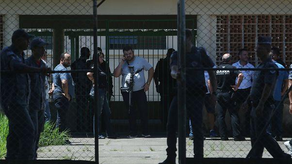 Brazil school shooting: Eight dead, including six children