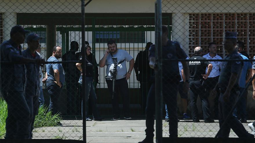Brazil school shooting: Eight dead, including six children