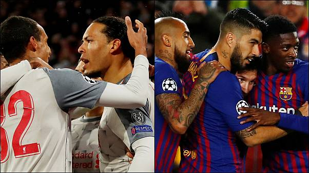 UEFA Şampiyonlar Ligi'nde Liverpool ile Barcelona çeyrek finale yükseldi