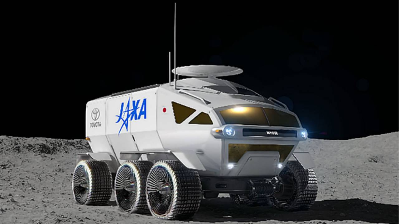 Toyota's moon rover could look like this