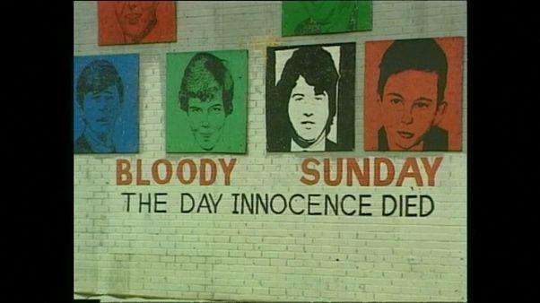 """Só um soldado britânico acusado pelo """"Domingo Sangrento"""""""