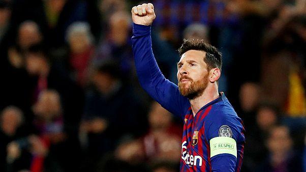 لیگ قهرمانان اروپا؛ دو گل و دو پاس گل حاصل جادوی مسی برای صعود بارسلونا