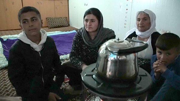 خشمان ياجار وعائلة عمه - صورة من تقرير الفيديو