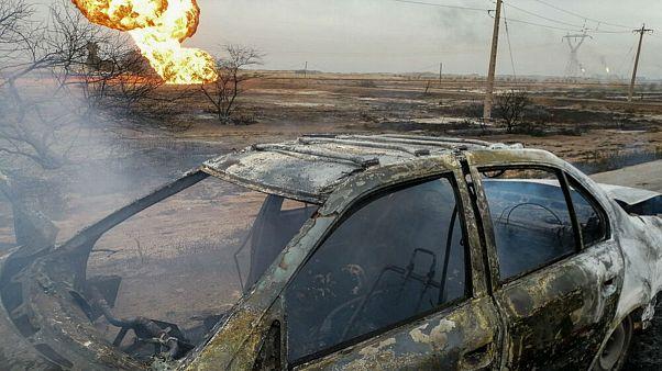 انفجار خط لوله گاز در مسیر اهواز-ماهشهر؛ ۵ نفر کشته و ۶ تن مصدوم شدند