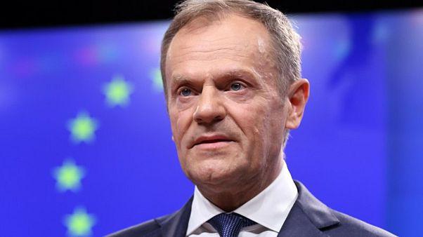 Tusk: Brexit'i yeniden düşünmek isterse İngiltere'ye uzun bir erteleme sağlanabilir