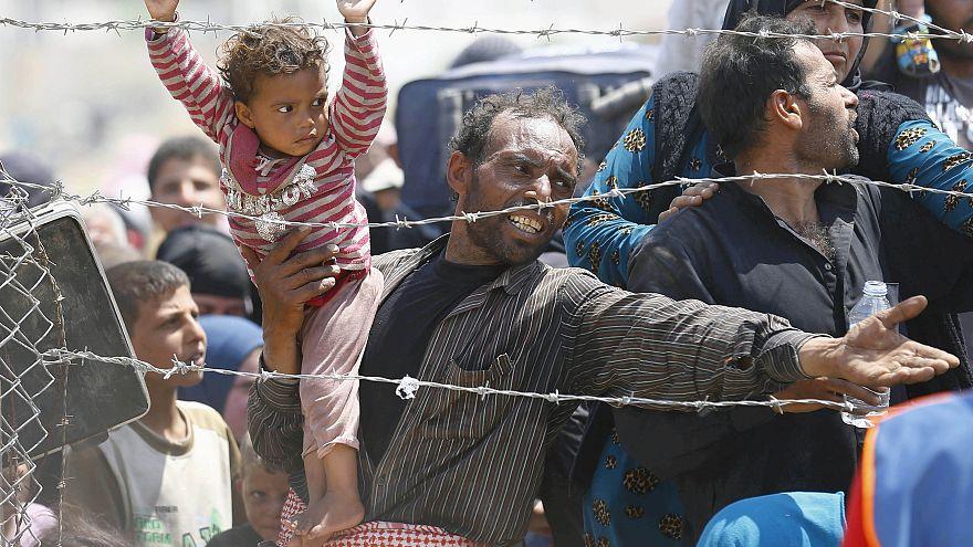 Caen las peticiones de asilo en la Unión Europea