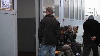 Número de pedidos de asilo em queda