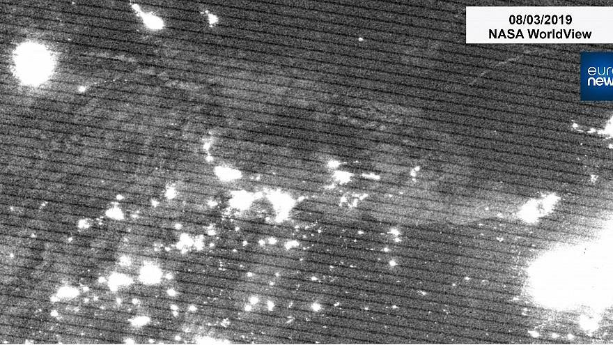 ناسا تصاویر ماهوارهای از خاموشیهای گسترده در ونزوئلا را منتشر کرد