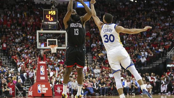 Los Warriors ponen fin a la racha de los Rockets en Houston
